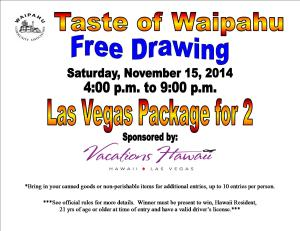 Free Drawing Flyer