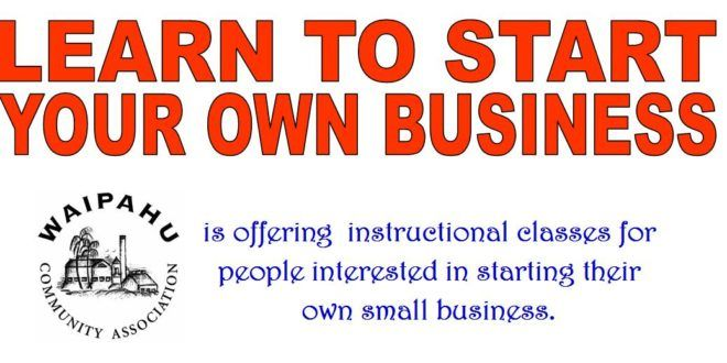 Learn to start your own business