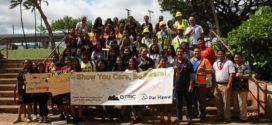 WCA helps raise pedestrian awareness at Waipahu Intermediate School