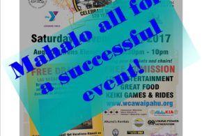 Celebrate Waipahu, 120 Year's MAHALO!