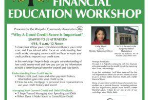 Free Financial Education Workshops